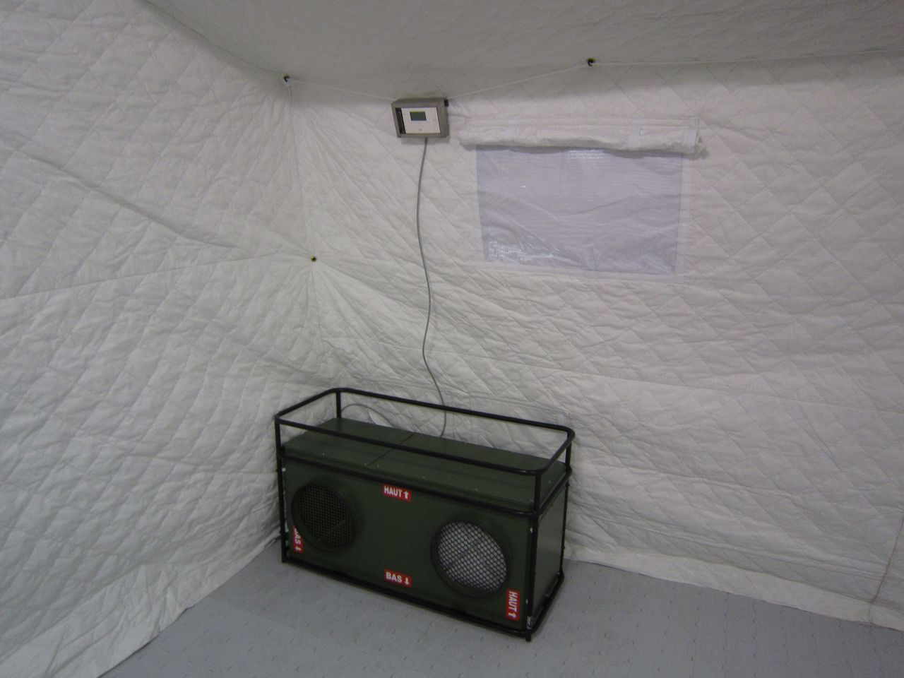 air conditioner military
